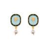 palm tree earrings from 10decoart