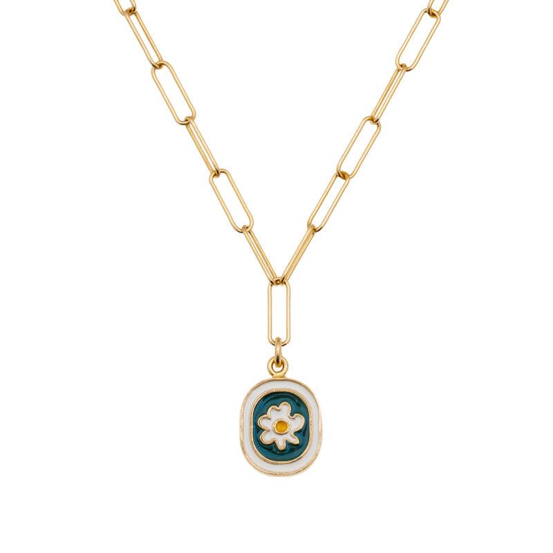 10decoart pendant with flowes