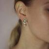 10decoart earrings flowers